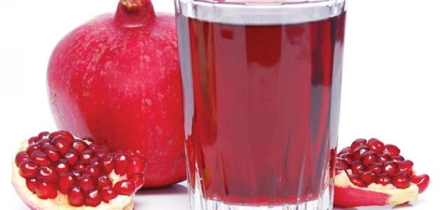 صورة طريقة عمل عصير الرمان الطازج , افضل طريقه لعمل عصائر طازجه وفرش