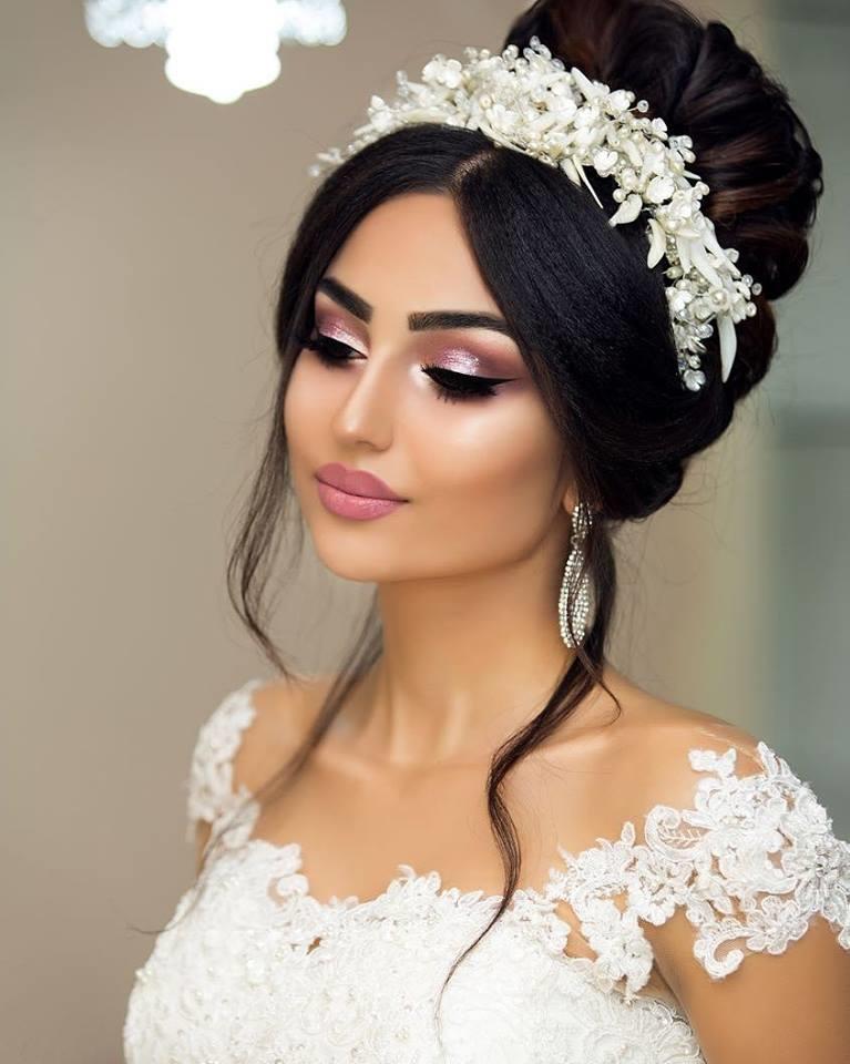 صورة تسريحات شعر عروس , معى سوف تكونى عروس جذابة