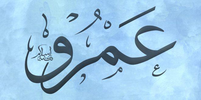 صورة معنى اسم عمرو , اسم لا يحملة الا العظماء