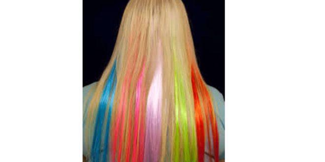 صور خصلات الشعر الملونة , خصلات تصلح لجميع الوان الشعر