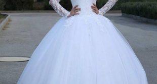 صورة صور فساتين فرح , اطلالتك اكثر جاذبية مع فستان الفرح