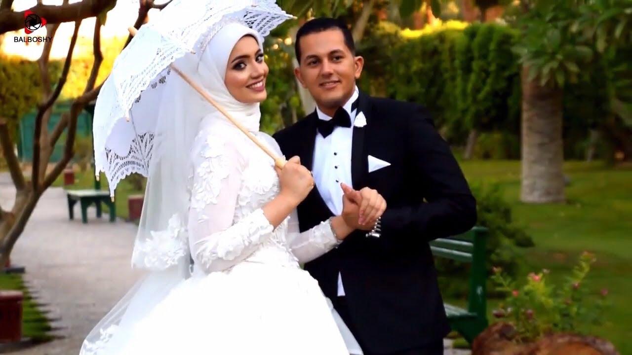 صورة عروسه محجبه وعريسها , العروس المحجبة دليل على تطبيق الشرع