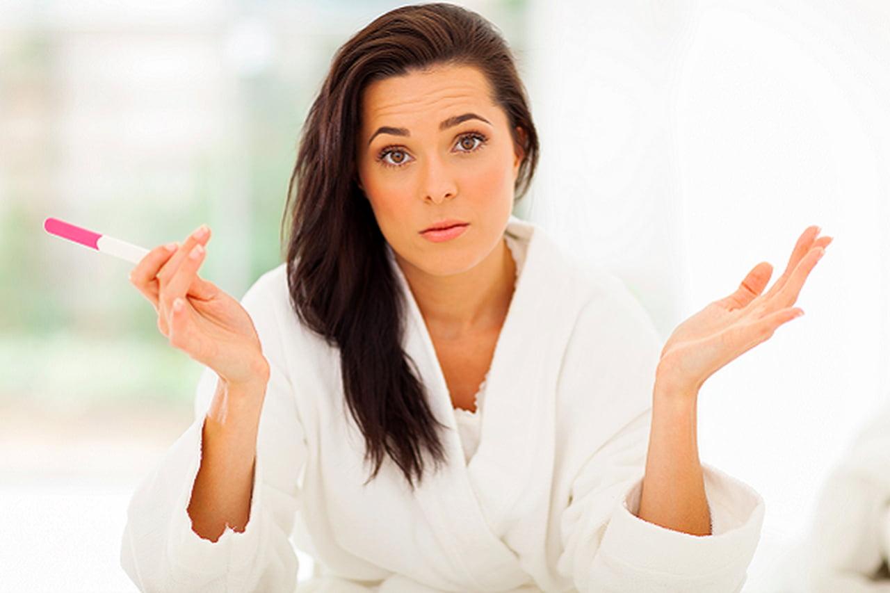 صورة تاخر الدورة الشهرية والحمل , بداية اعراض الحمل