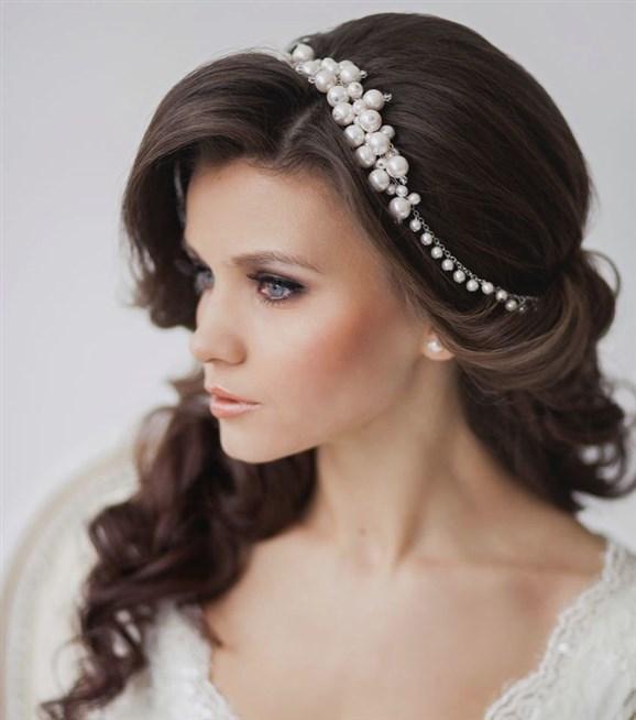 صورة اجمل تسريحات العرائس , كوني ملكه باروع وارقي التسريحات للعرائس الجذابه