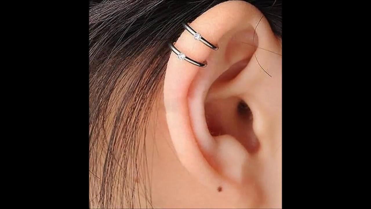 صورة موديلات ثقب الاذن , احدث موضه ثقب الاذن