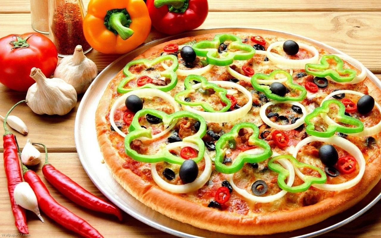 صورة طريقة عمل البيتزا الصغيرة , بيتزا السبع دقايق