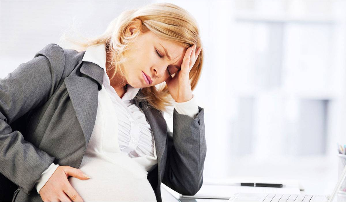 صورة علاج صداع الحامل , الحمل وعلاج الصداع