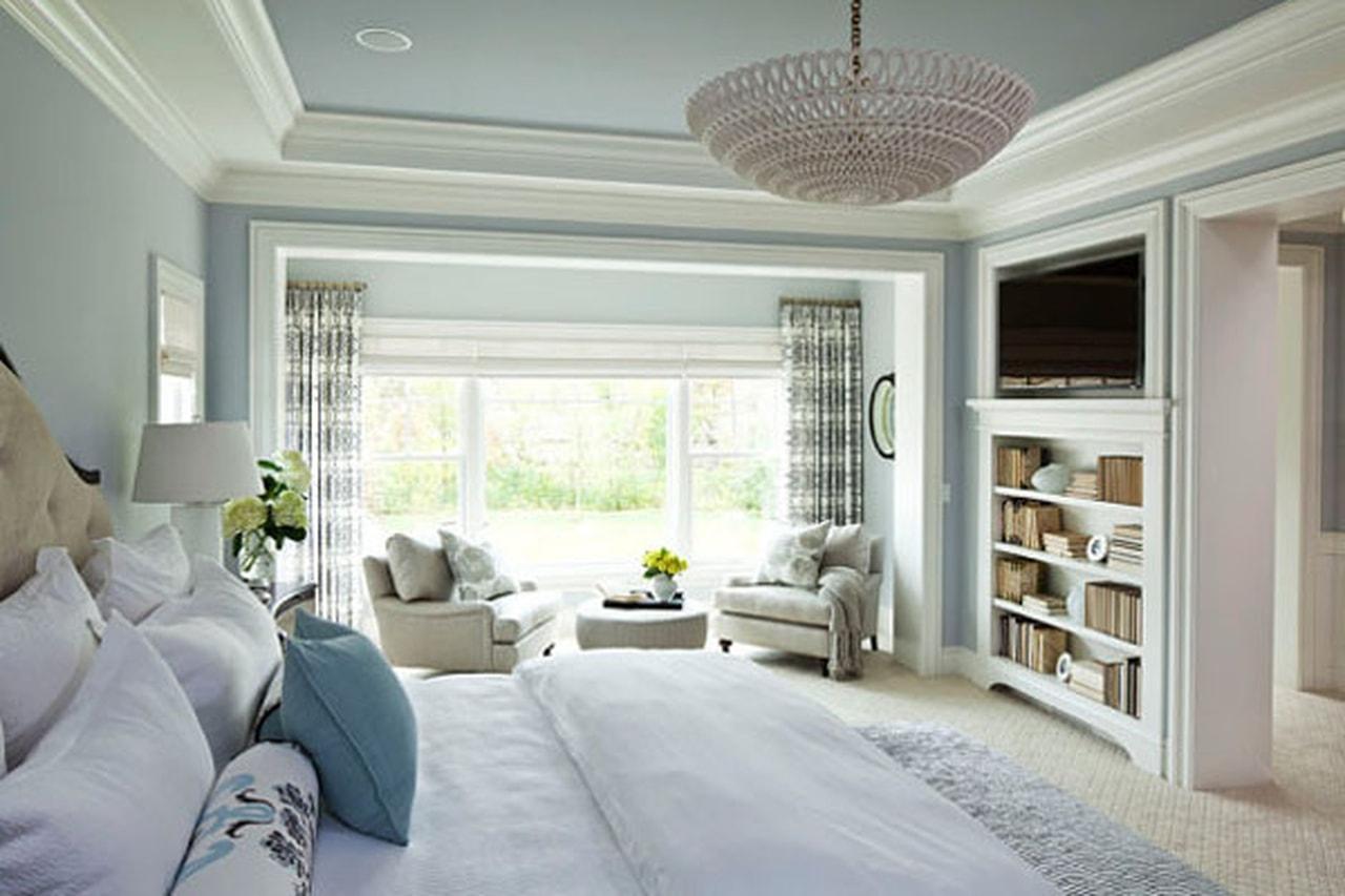 صورة ديكورات غرف النوم الرئيسية , كيفية عمل ديكورات فى غرف النوم