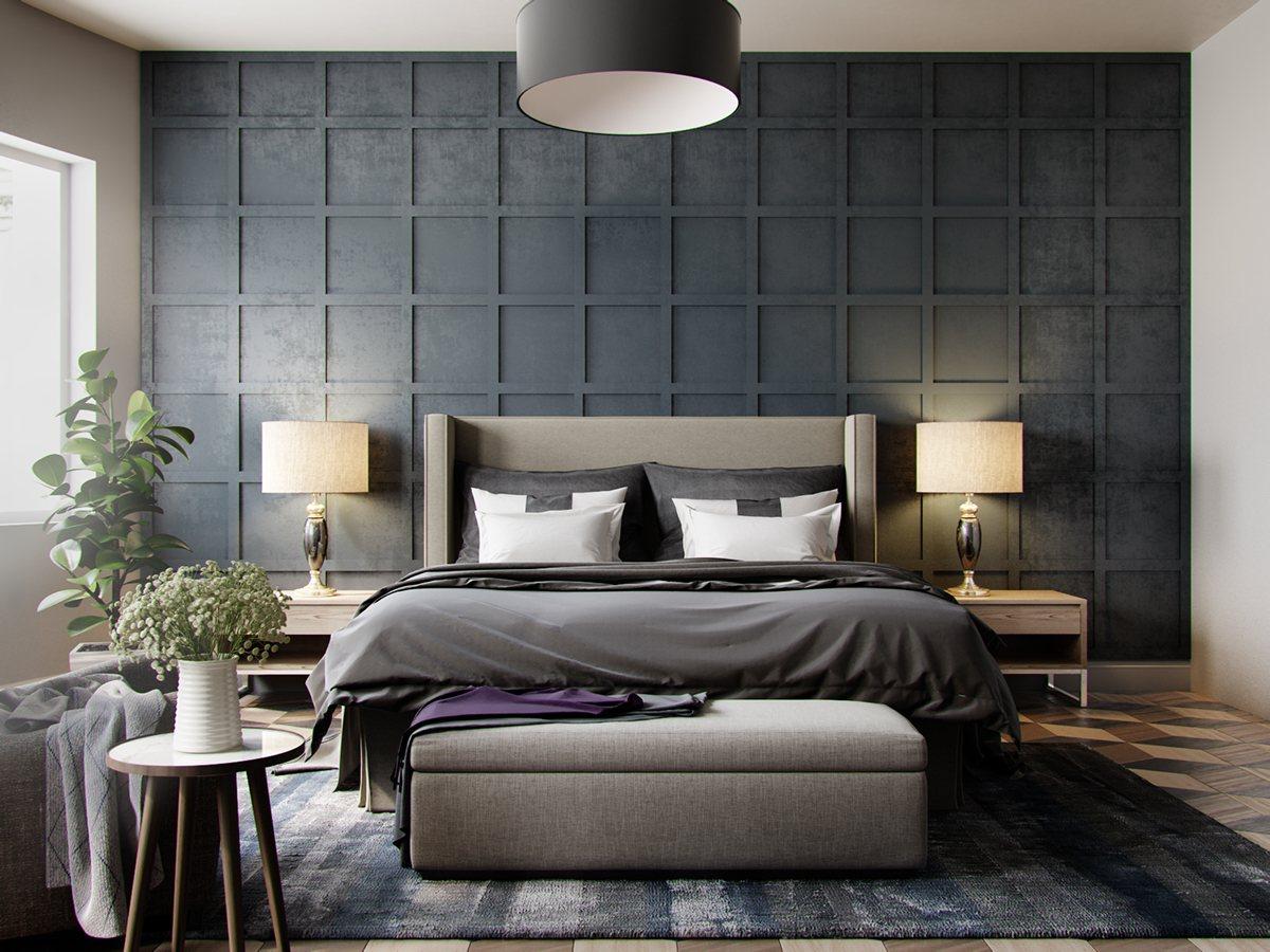صورة ديكور غرفة النوم بسيطة , الديكورات البسيطة التي تظهر جمال المكان