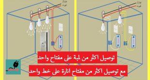 توصيلات كهرباء المنازل , كيفية اختيار الاماكن المميزة للكهرباء