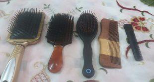 صور تنظيف فرشاة الشعر , طرق لجعل فرشه الشعر نظيفه