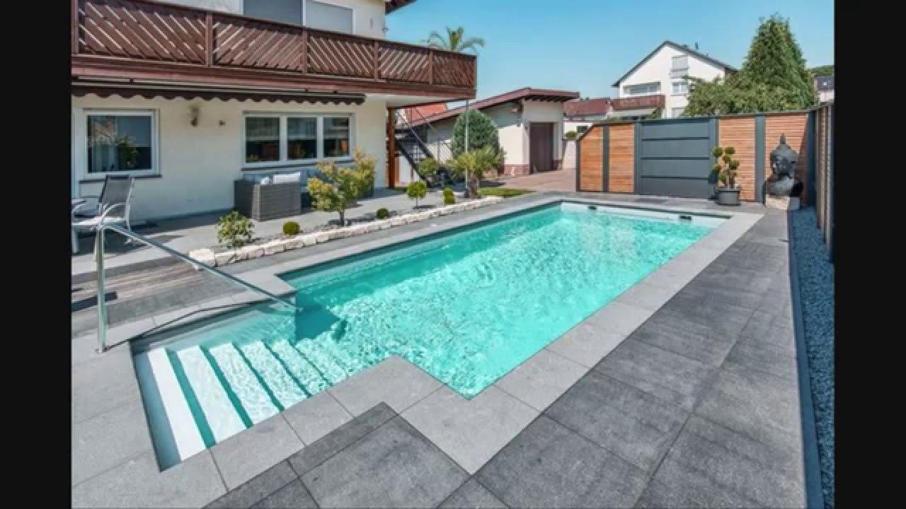 صورة حمامات سباحة منزلية , ترفية و روقان مع حمام السباحة
