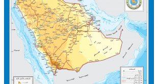 خريطة شمال السعودية , افضل الاماكن فى السعودية للسياحة