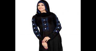 صورة موديلات عبايات سوداء كويتية , العبايات الكويتى و جمالها