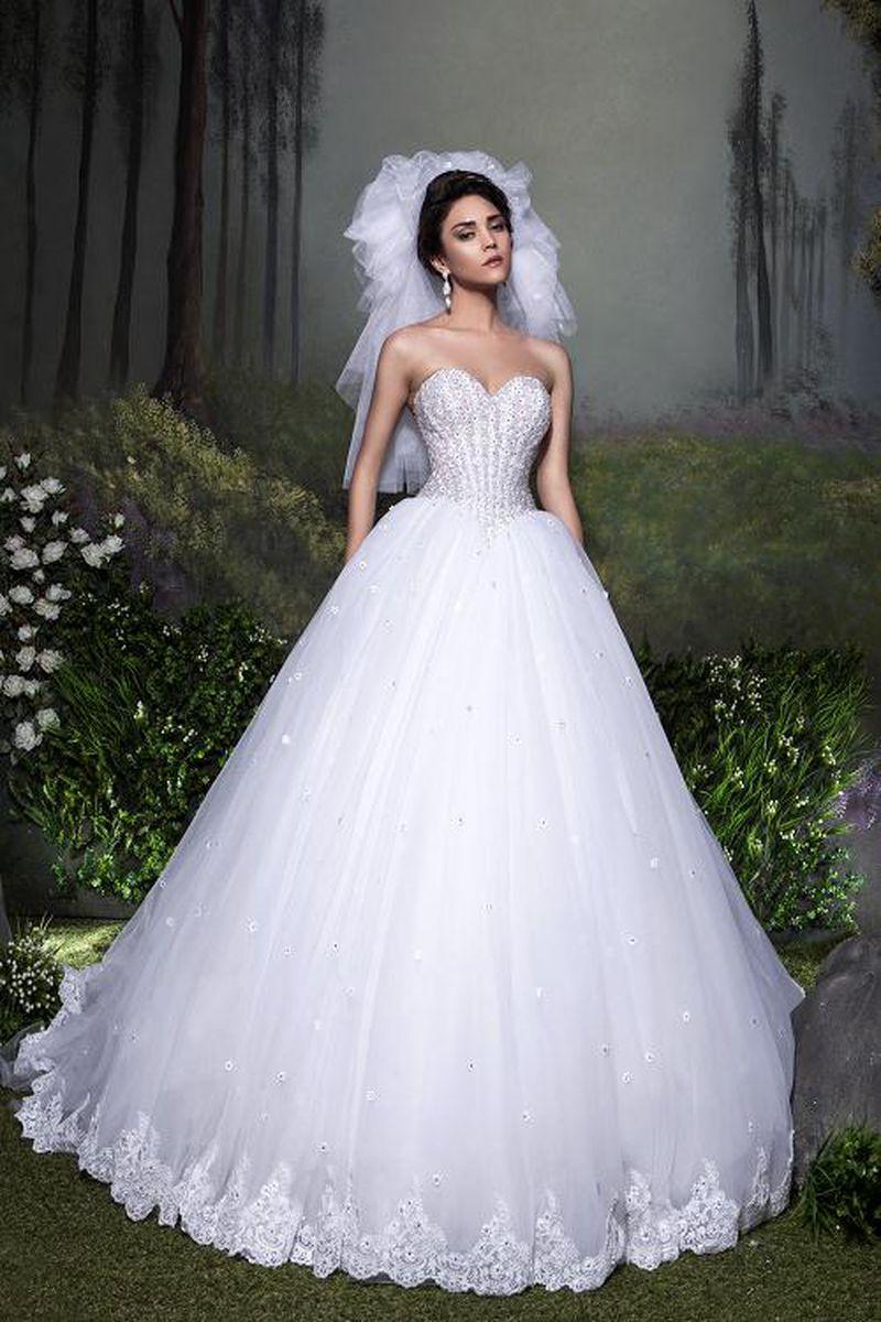 صورة صور فساتين عروسة , فساتين زفاف هتجنن البنات