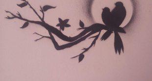 صورة رسم ع الحائط , الابداع فى الرسم على الحائط