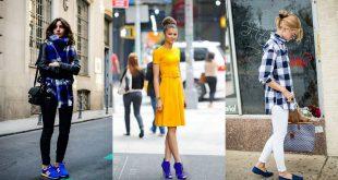 صورة تنسيق لون الحذاء مع الملابس , افكار لتكوني اشيك