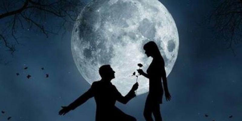 صورة صور رومانسية للقمر , واو رومانسيه تهوس بجد