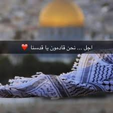صورة خواطر عن القدس , ارض الكنانة في سطرين