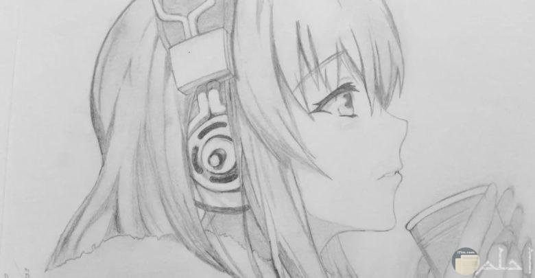 رسم بالرصاص انمي ارسم الانمي بايدك قبلات الحياة