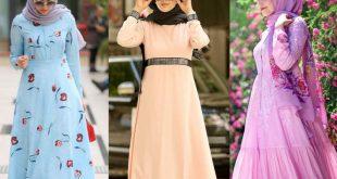 صورة اجمل الفساتين للمحجبات , ذوق فستانك علينا