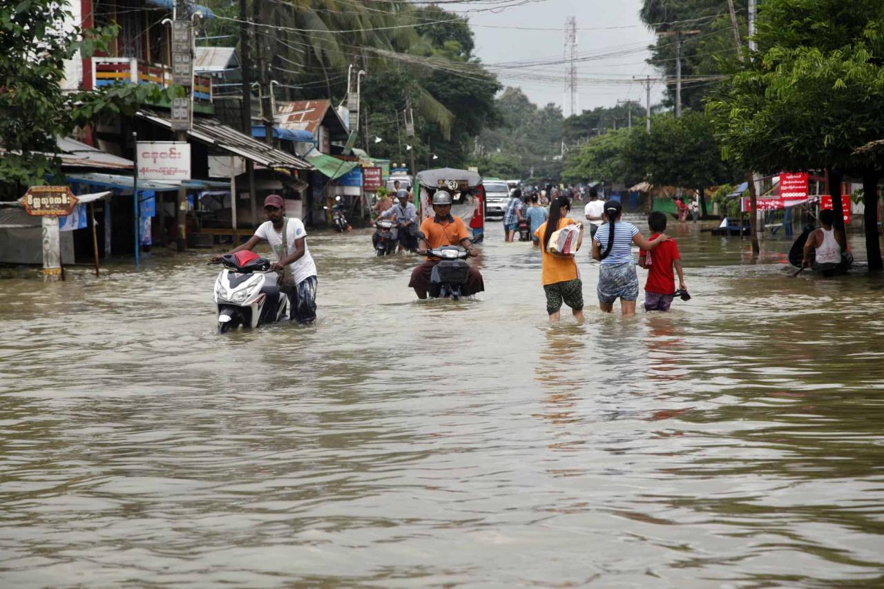 صورة بحث عن الفيضانات , تعرف علي مدي قوة الفيضانات