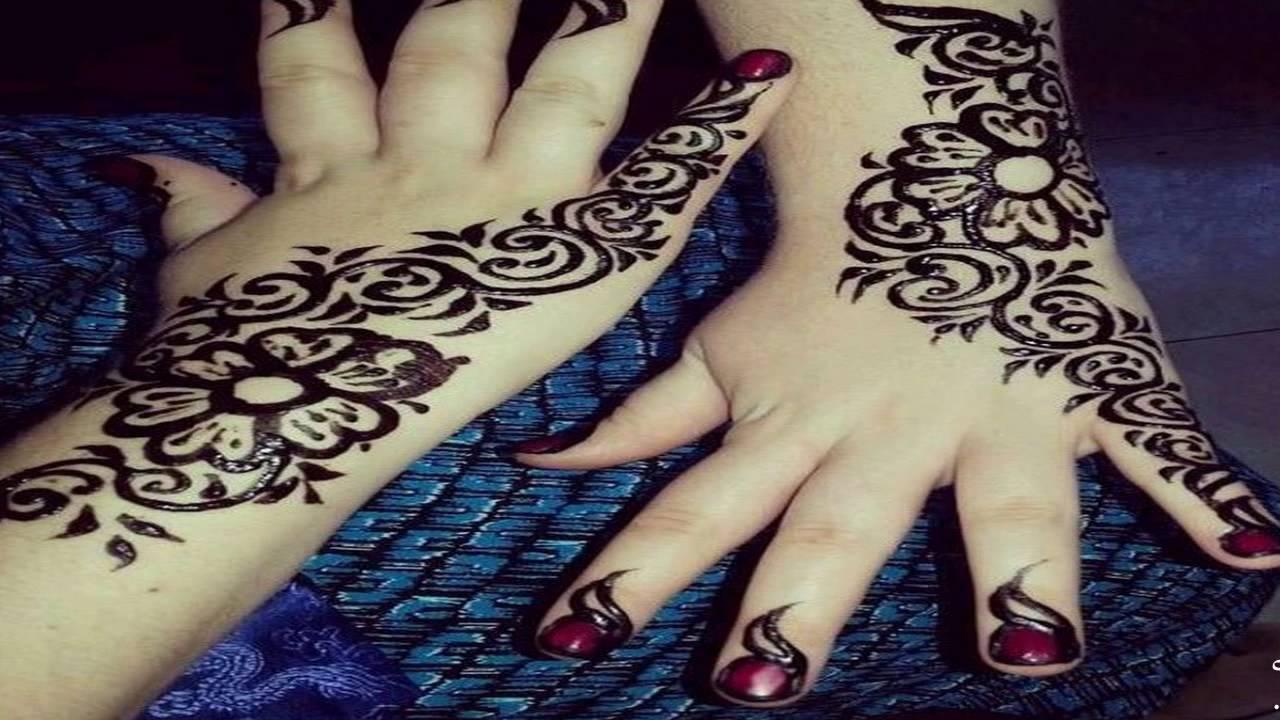 صورة حنة عروس سودانية , ازاي احط حنة سوداني