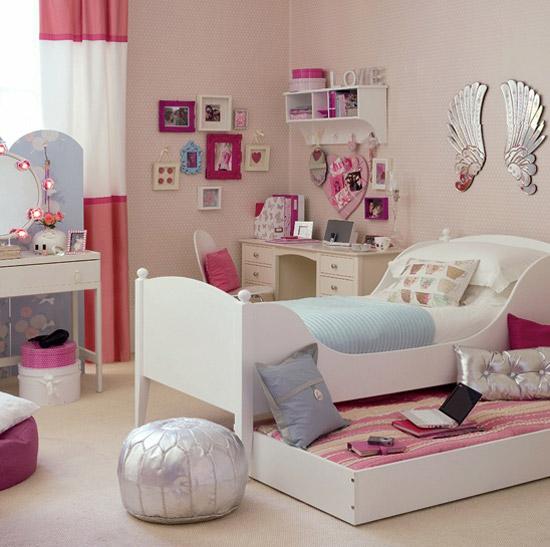 صورة غرف النوم للبنات , صممي مملكتك علي ذوقك