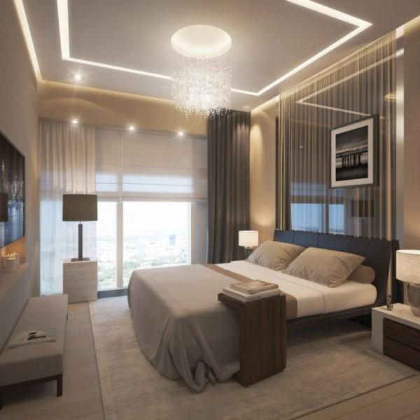 صورة اسقف غرف نوم , تصاميم تهبل لاسقف غرفة نومك