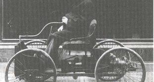 صورة اول سيارة صنعت , اول عربة في التاريخ