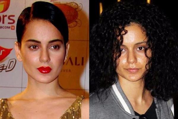 صورة هنديات بدون مكياج , الفرق في شكلهم هيصدمك