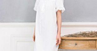 صورة فستان ابيض ناعم , احصلي علي اجمل الفساتين