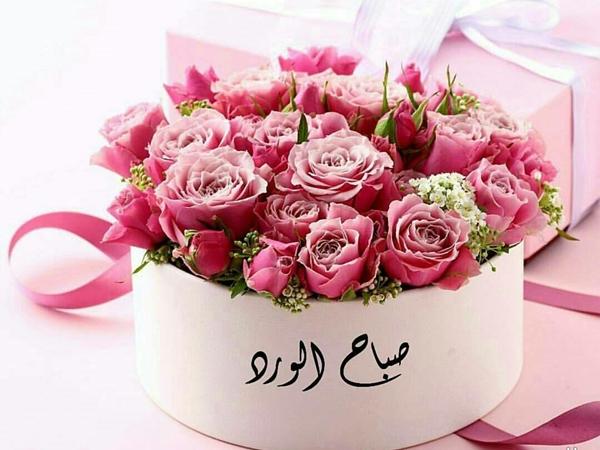صورة صباح الورد والياسمين فيس بوك , اجمل الصبيحات علي الفيس بوكات