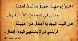 صورة ابيات شعر عن رد الجميل , بالصور شعر لرد المعروف روعه