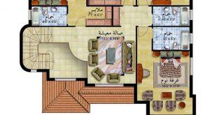 صورة خرائط فلل دورين , اروع تصاميم لفيلا دورين