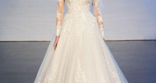 صورة اجمل فساتين للعروس , تصاميم فساتين زفاف لهذا العام