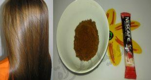 صبغه طبيعيه بالنسكافيه و الكاكاو , صبغة طبيعية تفيد شعرك