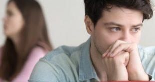 صورة صمت الرجل دليل حب , الرجل لا يظهر مشاعره
