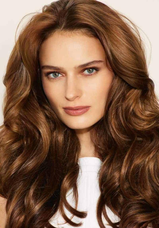 صورة الوان صبغات الشعر العسلي , غير لون شعرك معانا
