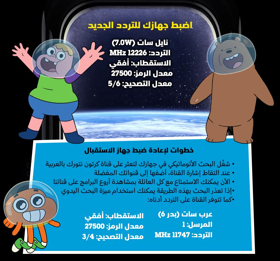 صورة تردد كرتون نتورك بالعربية الجديد , احدث ترددات قناه كرتون نتورك بالعربية