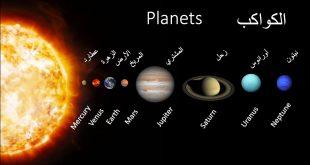 صورة اسماء الكواكب الشمسية , ما هي اسماء الكواكب الشمسية