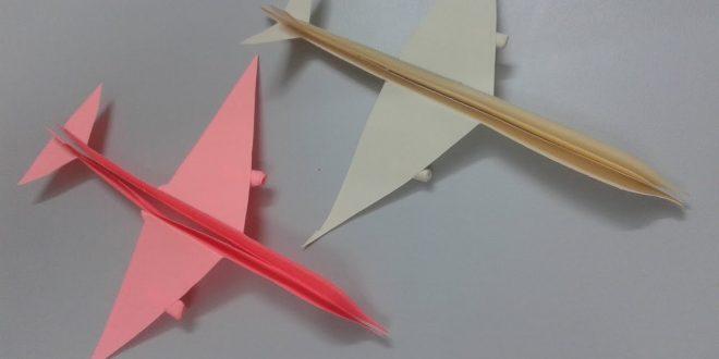 صورة كيفية صنع طائرة , كيف اصنع طائره ورقيه لابني