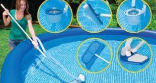 صورة ادوات تنظيف حمامات السباحة , نظفيه انتي بنفسك