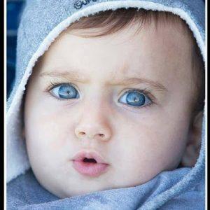 صورة اجمل صور اطفال بالعالم , يالهوي علي القمر و الجمال 4867 2