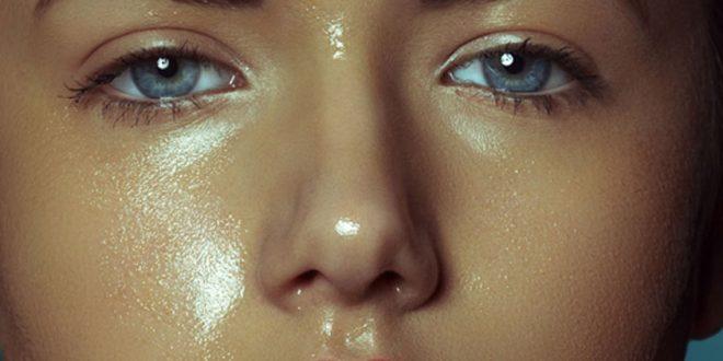 صورة وصفة لمنع تعرق الوجه , انسي مشكلة بشرتك الدهنية بعد كدة