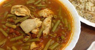 صورة طريقة عمل الفاصوليا الخضراء بالدجاج , احلي و اطعم طبيخ لاولادك