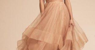 صورة فساتين افراح ملونة , هبقي شيك ومنورة في الفساتين الملونه