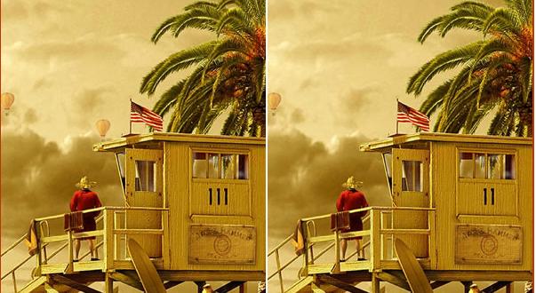 صورة اختلاف بين الصورتين , العاب ذكاء وقوك ملاحظه