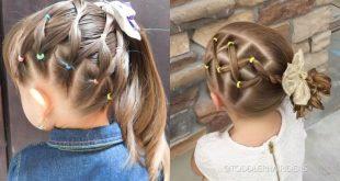 صورة تسريحات شعر بناتي , اختاري من بين احدث قصات شعر لابنتك