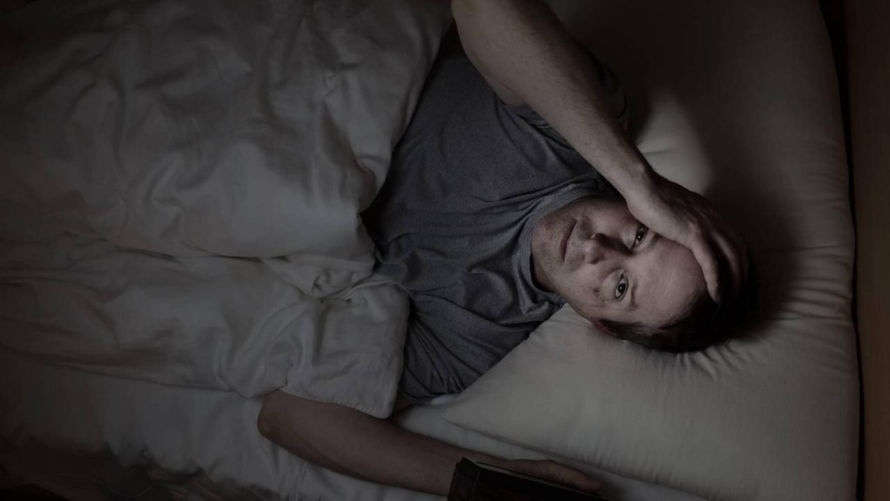 صورة التفكير اثناء النوم , كيفيه التخلص من التفكير اثناء النوم 4292 2